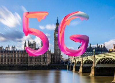 5G Wielka Brytania badania