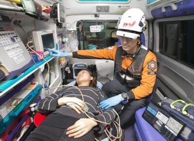System ratownictwa w Korei / Źródło: KT Corp. / Jeonnam Fire Service / koreabizwire
