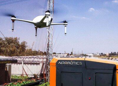 sieć dronów w Dubaju / Źródło: NewsScientist/Airobotics