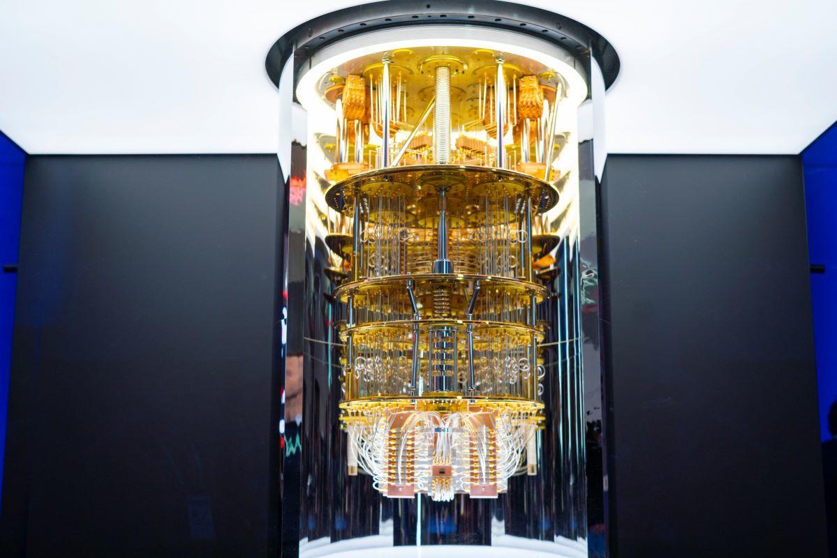 komputer kwantowy IBM. Źródło: IBM