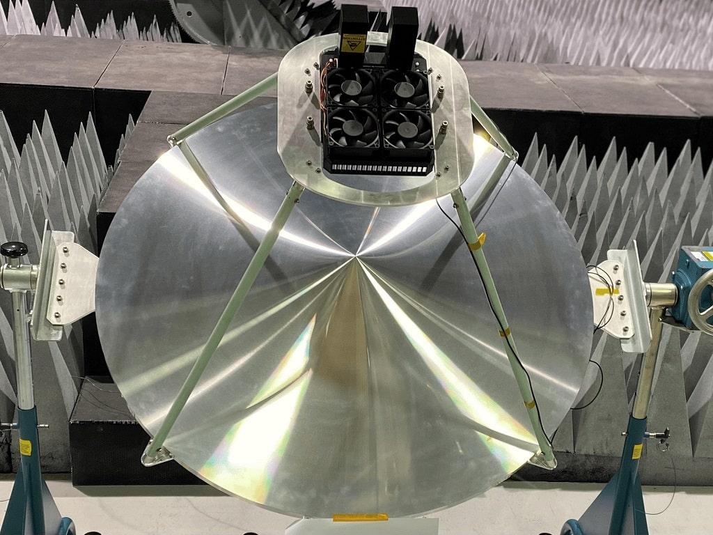 Antena satelitarna obsługująca technologię 5G / Źródło: Lockheed Martin