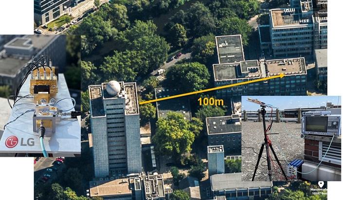Transmisja danych za pomocą technologii 6G / Źródło: LG Electronics/Korea BizWire