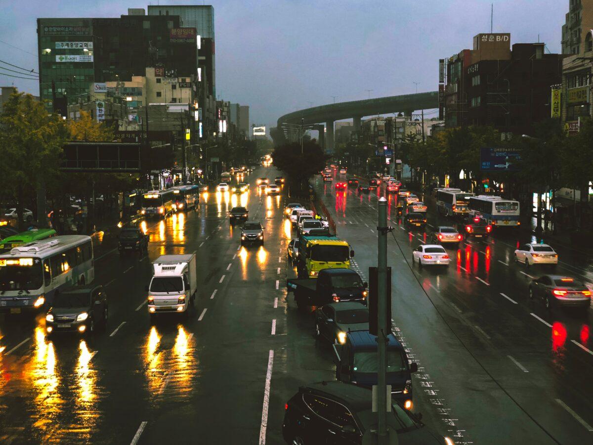 drogi wKorei