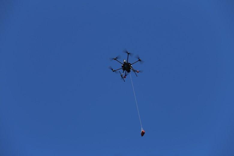 Drony zdefibrylatorami / Źródło: Andreas Claesson/Karolinska Institutet