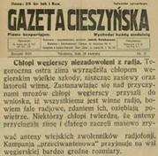 gazeta cieszyńska - chłopi iradio
