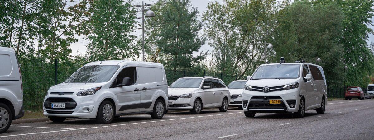 Autonomiczne samochody / Źródło: Sensible 4