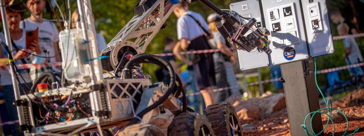 zawody łazików marsjańskich / Źródło: European Rover Challenge