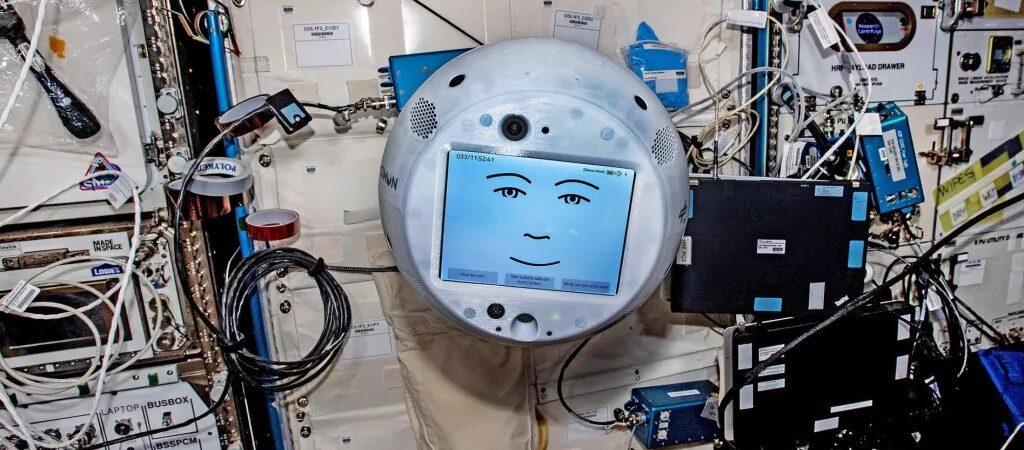 Robot CIMON / Źródło: Airbus/Space.com