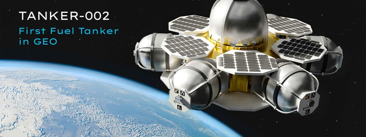 Kosmiczna stacja paliwowa / Źródło: Orbit Fab