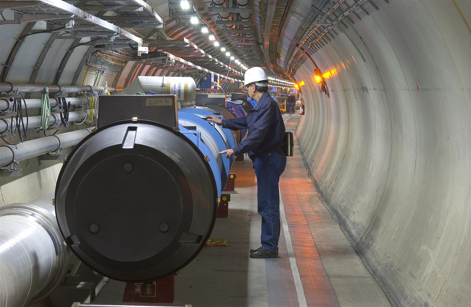 Wielki Zderzacz Hadronów / Źródło: CERN
