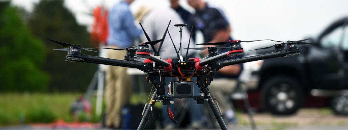 Dron / Źródło: NUAIR